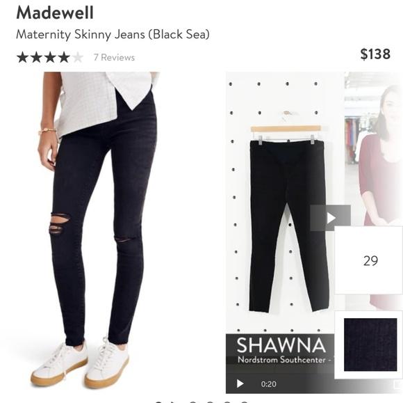 1339dc33cb10f Madewell Jeans | Maternity Size 32 | Poshmark